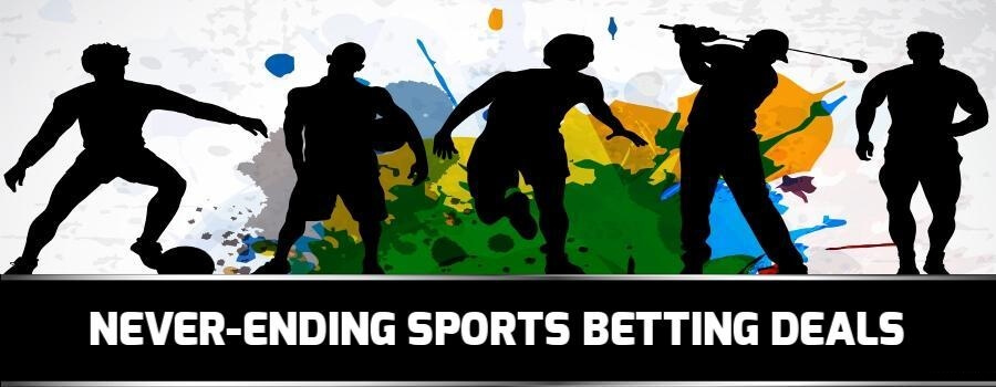 Sport betting promotions are never-ending